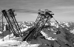 gigantic ski lift (Jen.Berry) Tags: snow ski nature cabin lift resort machinary moumtain