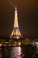 Tour de Eiffel from Pont de L'Alma