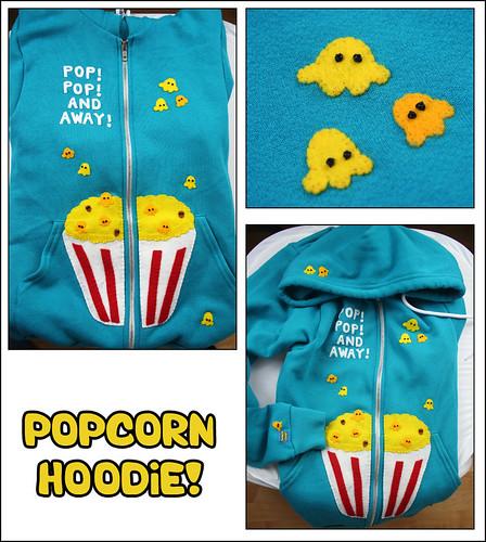 Popcorn hoodie 1