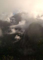 Subiendo el Machu Picchu