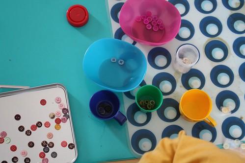 separando botóns por cores