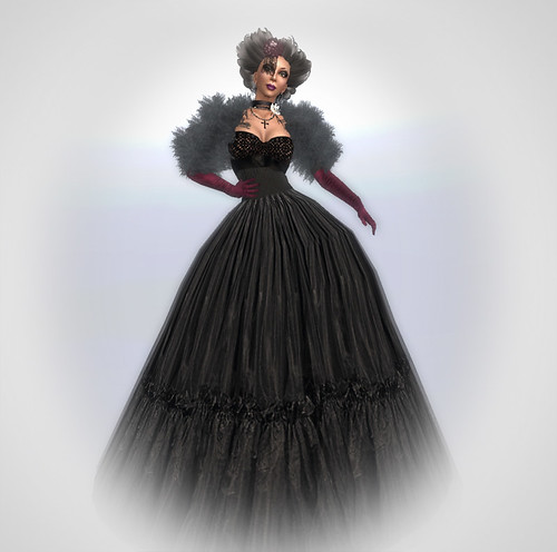 Relay challenge - Romantic Goth Couture