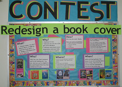 TeenTechWeek2009 - Contest (nataliesap) Tags: contest highschool bookcover bulletinboard interactive ttw liblibs unihigh teentechweek
