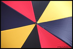 Colour my Rain (Mix Master B) Tags: blue red black yellow umbrella canon colours ef70200mmf28lusm colorphotoaward colourmagic brandonswartz canon5dmkii mixmasterb