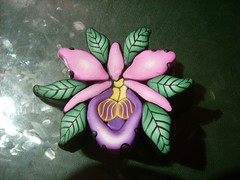 Orchid cane in progress (gwendolyne85) Tags: cane millefiori