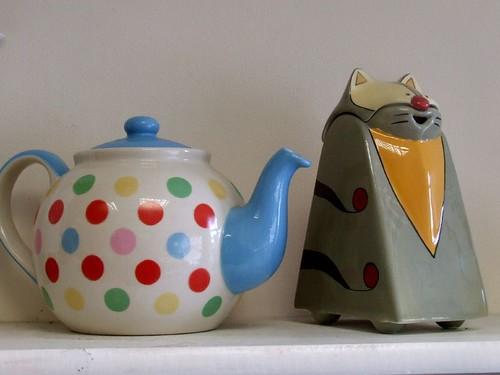 Funky Teapots
