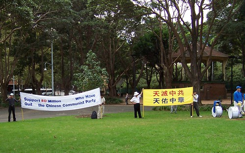 Belmore Park demo March 2009