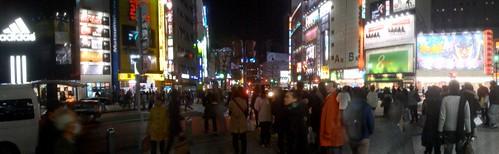 渋谷東急前交差点パノラマ