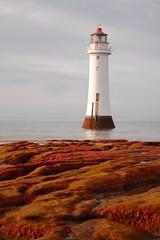 new brighton lighthouse (ihughes22) Tags: sea lighthouse liverpool rocks wirral newbrighton rivermersey perchrock