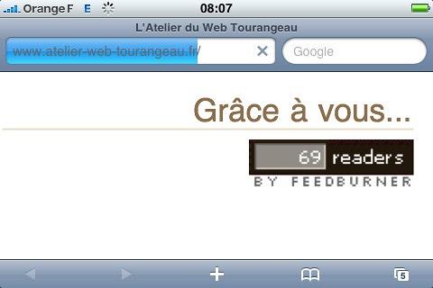 Atelier du Web Tourangeau - Le web est sexy c'est confirmé - Puisqu'on vous dit que le web c'est un truc sexy !!!<br /> En faisant un tour sur le nouveau blogue de l'AWT ce matin j'ai remarqué ceci, marrant non.
