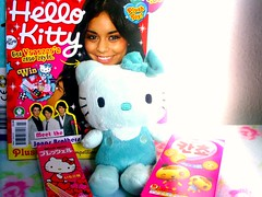 hello ... kitties!  (Hazel) Tags: hello new magazine strawberry kitty plush pocky