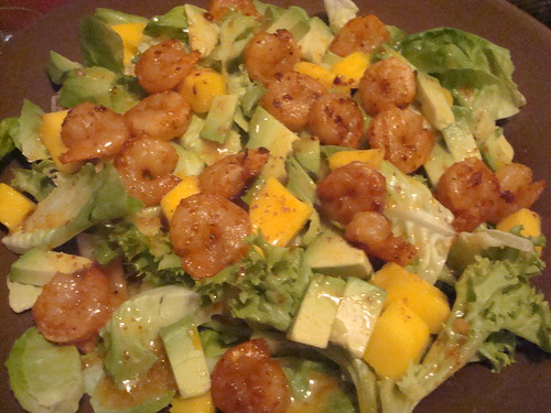 Tropical Recipe: Shrimp and Mango Salad | Storm of Thoughts