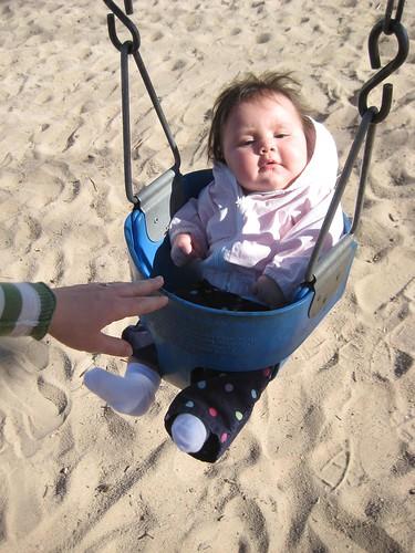 Maddy swinging
