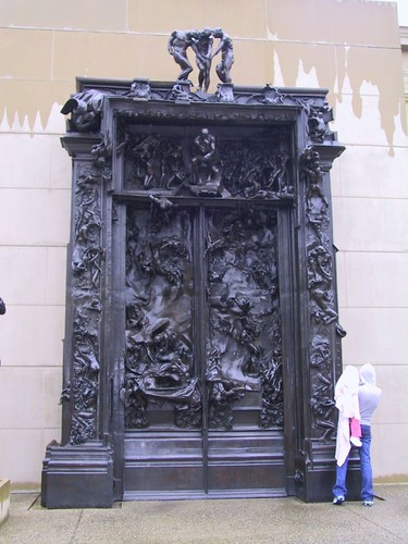 The Gates of Hell at Cantor Art Museum by Rodin | Flickr - Photo ...