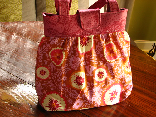 gathered bag