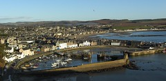 Stonehaven Harbour (Mel Huitson) Tags: uk sea sky water boats coast scotland pier aberdeenshire harbour northsea lowtide stonehaven stonehavenharbour absolutelystunningscapes