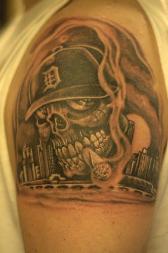 cityscape tattoo Tattoos Gallery