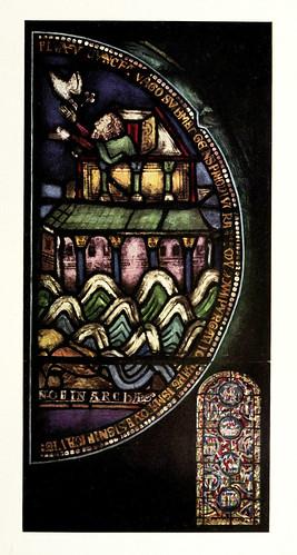 003- Noe en el arca-pasillo norte del coro de Canterbury siglo XII