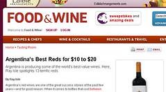 La prensa internacional elogia a los vinos argentinos por su value