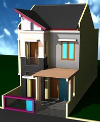 Renovasi Rumah Minimalis 2 lantai by Indograha Arsitama Desain & Build