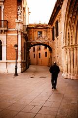 (Wave / Particle / Pixel) Tags: old bridge man valencia festival geotagged spain moody cathedral rustic center seu melancholy typical carmen esp fallas falles comunidadvalenciana catedraldesantamaradevalencia geo:lat=3947559529 geo:lon=037451148