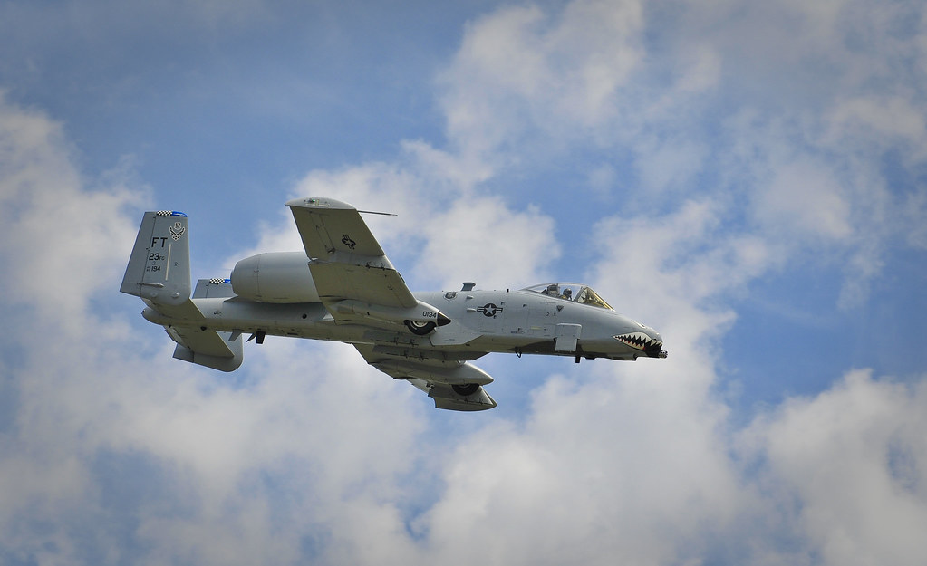 A-10 Thunderbolt II -  The Warthog