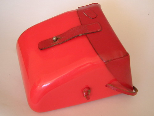 Handbag, Bakelite and leather by midcenturydesign