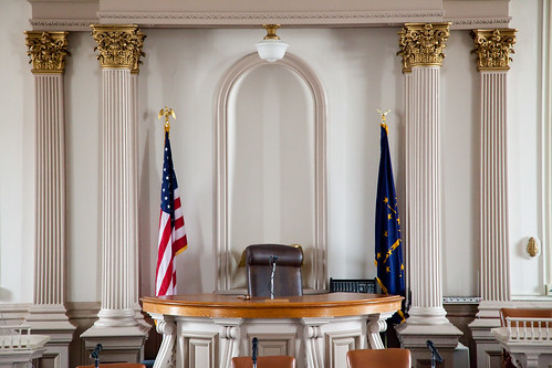 Historic Henry County Courtroom
