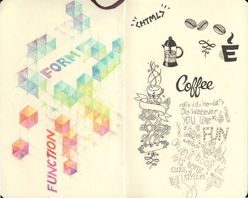 Moleskine doodles & sketches
