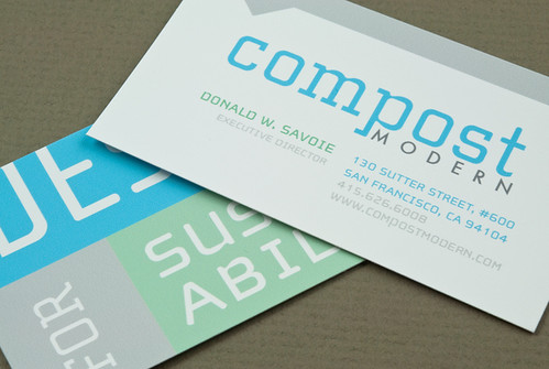 Sustainable Company Business Card