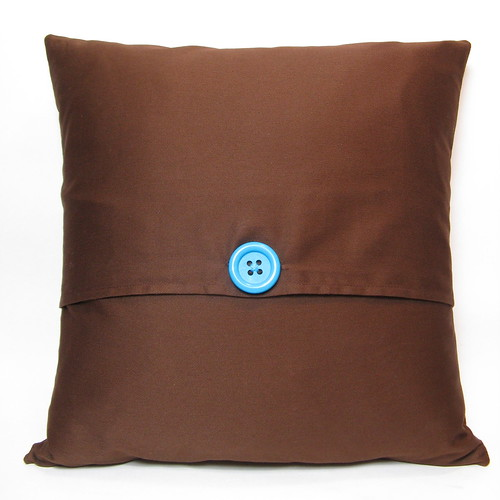 Bluebird of Happiness Pillow - back