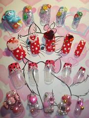 ★Kawaii Japanese Nail Art Tips ~2~★ (Pinky Anela) Tags: cute colorful nails tips kawaii nailart japanesenails japanesenailart