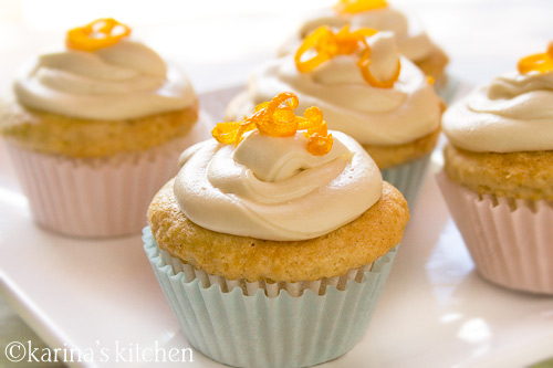Gluten-free Orange Creme Cupcakes Recipe