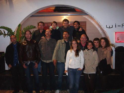 1ª cena flickeros de Ibiza.