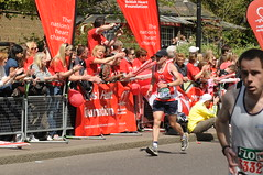 BHF Heart Runners at Flora London Marathon 2009