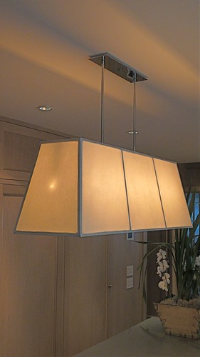 Custom Made Kitchen Pendant Lamp Fixture that I MADE