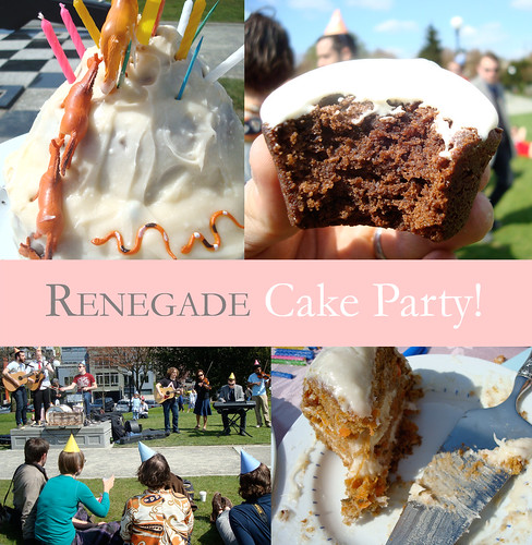 Renegade Cake Party!
