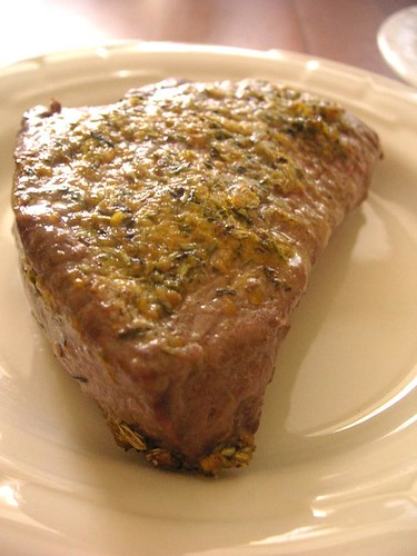 Fennel and orange steak