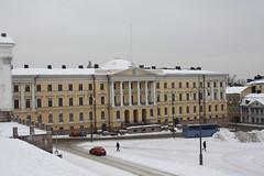 Helsinki view 90 (sohvimus) Tags: winter snow buildings helsinki helsingfors lumi talvi kruununhaka senaatintori senatesquare senatstorget kronohagen valtioneuvostonlinna statsrdsborgen