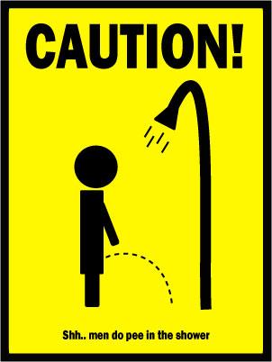 Pee Shower