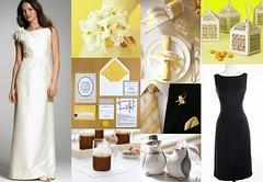 3505953525 cbe1b14518 m Baú de ideias: Decoração de casamento amarelo