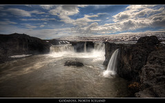 Godafoss (Dylan Toh) Tags: mountain snow ice landscape waterfall iceland north explore hdr waterscape godafoss everlook explored the4elements vosplusbellesphotos everlookphotography