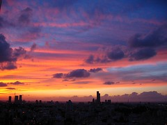 Dusk 3 (Gaby.Bernstein) Tags: sunset building clouds buildings landscape cityscape gaby dusk bernstein bernsteingaby gabybernstein