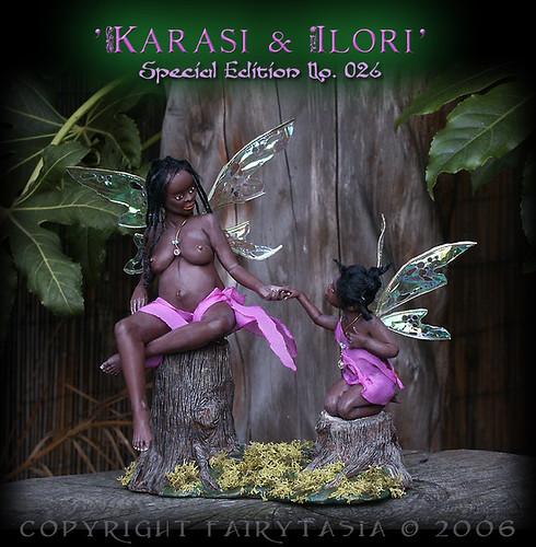 Karasi and Ilori by Clare Gladding