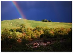somewhere over the rainbow (beesquare) Tags: italy rainbow italia magic tuscany toscana valdorcia theunforgettablepictures