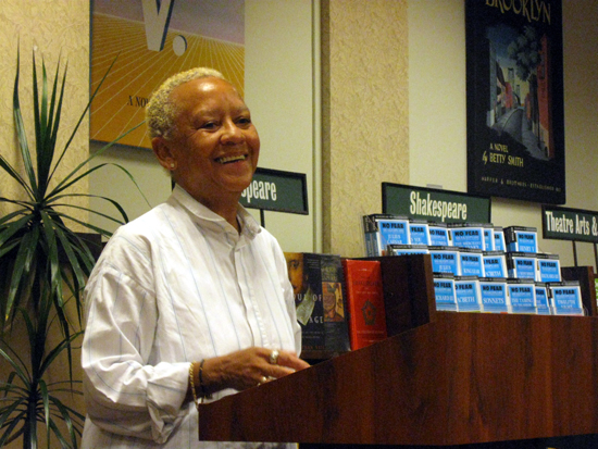 Nikki Giovanni Smiles (Click to enlarge)