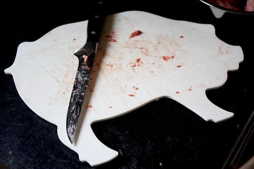 Piggy Cutting Board