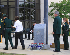 Escambia County Florida Law Enforcement Memorial (Mona Hura) Tags: county for office memorial order florida police lodge law enforcement fraternal 2009 149 sheriffs policememorial lineofduty escambia endofwatch escambiacountyflorida escambiacountysheriffsoffice
