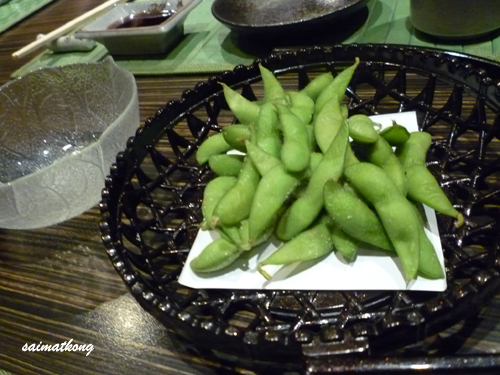 鲜煮毛豆 Edamame - Green soybeans