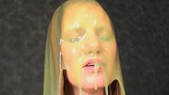 038 Amber Vs. Honey (iSlime) Tags: slime gunge gunged slimed slimedgirls